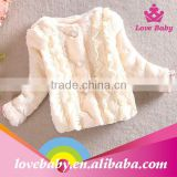 Wholesale lovebaby new arrival ivory kids winter clothes