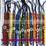 Wide Macrame Friendship Bracelets with Ceramic Beads, Woven Handmade Jewellery, Best Jewelry Stores
