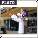 Own design Taekwondo inflatable waving man,Rental Air Dancer