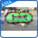 2017 inflatable speedway race track go kart inflatable barrier