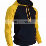 oem hoodies - Full Zip Hoodie (Black With Yellow Trim)