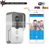 Smart Wifi Doorbell Video Door Phone With Wireless Intercom Security Camera Support Talking With Visitors by Mobile Cell Phone