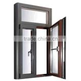 Aluminium Side hung Window Double Glazed Windows and Doors comply with Australian standards AS2047
