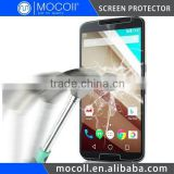 Tempered Glass Screen Protector for Motorola Google Nexus 6 Industry 9H Hardness with Oleophobic Coating
