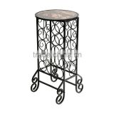 15 Bottle glass wine rack storage side accent table                                                                         Quality Choice