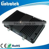 China mobile amplifier Lintratek high gain 75db 3G PCS 1900mhz mobile signal repeater with automatic level control function