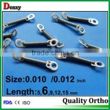 Dental supply dental orthodontic spring / 2 both bigger ring close springs with CE,ISO and FDA