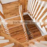 natural oiled unfinished oak wood stair tread