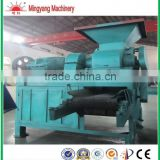 Hot sell 2ton per hour two roller bar shape briquette pressing machine for charcoal powder