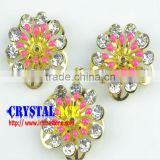 Small decorative craft metal flower, antique imitation craft metal flowers wholesale