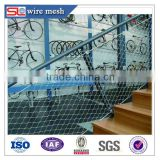 stainless steel wire rope mesh net/cable tray/mesh cable wrap