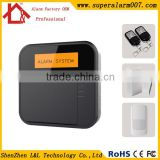 Newest !!! GSM Auto Dial Burglar Home Security Alarm APP controlled RFID wireless alarm system