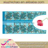 HG0049-6A factory sale organza flower neck lace garment trim