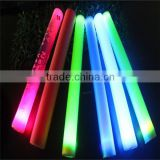 light up party led stick foam cheering wholesale foam glow stick
