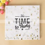 20 pcs Party Paper Napkin for Party Decoration Supplies Wedding Birthday Party Decoration