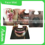 New arrival customized face mat paper bar coaster, M-972