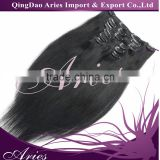 18inch Clip In Human Hair Extension, Indian remy double weft 28 inch Wholesale remy clipin hair