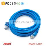Cat6 Ethernet Patch Cable 5 Feet - Soft Flex Tab - RJ45 Computer Networking Cord - Multi-Color