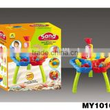 16pcs sand water play table kids sand water table beach sand toy