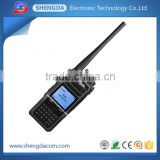 VHF UHF dPMR digital handheld radio/walkie talkie support digital/ analog modes with military quality