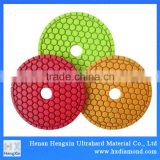 for Marble Granite Concrete diamond abrasive disc fexible polishing pad china super tool