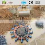 best selling excavator part hydraulic round pile breaker/cutter