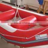 HEITRO Heavy duty double floor river boat white water rafting 8 persons river raft row boat