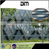 diamond mesh metal panels/decorative aluminum fence panels/grill expanded metal