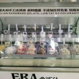 Green&Health gelato display italian ice cream display case