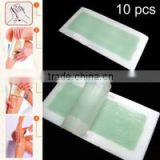 Good quality Hair remover cold wax strips multi colour depilatory wax strips FOR Leg and underarm