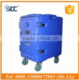 116L Cold Reefer Box, cold storage refrigerator container for transport cold with GN pans
