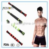 3D Fashion sports fitness muscle massage roller stick