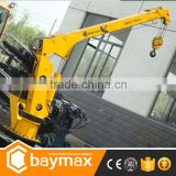 2 ton New model hydraulic marine/boat/yacht/ship crane for sale (1-16 ton available)