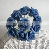small PE blue rose flowers bouquets for wedding home party decorations