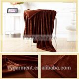 Thick warm blanket 100 polyester blanket poyester mexican blanket