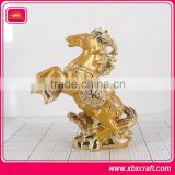 antique horse metal brass animal figurines horse sculpture