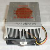 copper insert heatsink CPU cooling fan,application for AMD K8