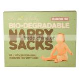 wholesale bnb-87 Baby Bio-degradable Nappy Sacks FRAGRANCE FREE