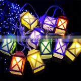 LED battery string light Plastic house Christmas wedding party holiday indoor outdoor solar string light