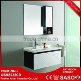 Alibabba golden supplier wholesale corner bathroom mirror cabinet