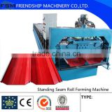 Steel Angle of chi Glazed Tile Roll Forming Machine,Color Steel Roof ,Architectural Decoration
