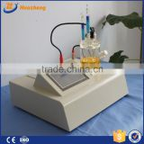 Auto karl fischer moisture titrator techniques transformer oil moisture tester China made