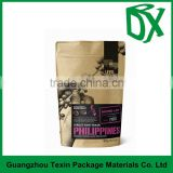 Shopping from China supplier natural color used brown kraft paper coffee bags for coffee machines alibaba co uk