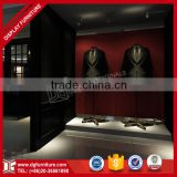 2016 latest garment shop interior design fancy customized retail clothes shop decoration