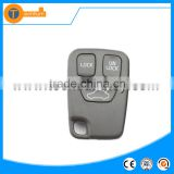 plastic 3 button remote key case shell without logo with letter on back for volvo v40 c30 v50 xc70 850