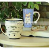 Promotional wholesale ceramic mug decal