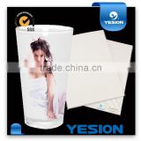 Yesion Factory Supply Water Transfer Paper/Water Slide Decal Paper White&Clear Used for Glass, Crystal, Metal, Mug etc