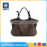 Customized teenager girls trend canvas wholesale tote bags no minimum