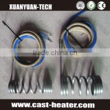 high temperature coil type cable nozzle heater