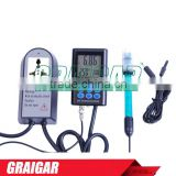 High accuracy Model ph-221 Dual monitoring of pH and Temperature Conductivity/orp/ph Controller